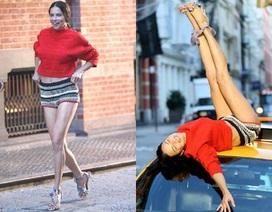 Adriana Lima: U40 vẫn cực quyến rũ