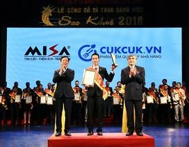 """Tiên phong trong cuộc CMCN 4.0, MISA giành """"cú đúp"""" Sao Khuê 2018"""