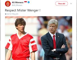 HLV Wenger nhận nhiều lời chia sẻ nồng ấm khi quyết định rời Arsenal