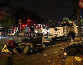 Vụ ô tô tông nhiều xe máy làm 2 người chết: Đạp nhầm chân ga