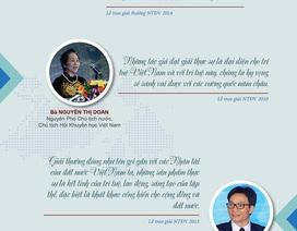"""Infographic: Những nhận định """"đắt giá"""" về Giải thưởng Nhân tài Đất Việt!"""