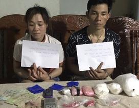 """Chồng vừa bị bắt vì buôn ma túy, vợ """"tiếp bước"""" theo chồng"""