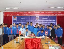 Tăng cường sinh viên tình nguyện dạy học tiếng Việt cho thanh niên Lào