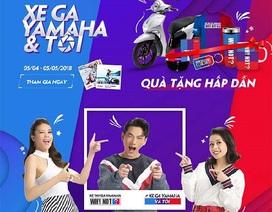 "Sao Việt nô nức khoe xe trong cuộc thi ""Xe ga Yamaha & Tôi"""