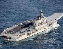 Uy lực tàu sân bay duy nhất của Hải quân Nga