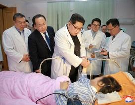 Ông Kim Jong-un tới Đại sứ quán Trung Quốc chia buồn vụ tai nạn thảm khốc