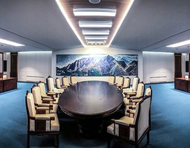 Hình ảnh đầu tiên bên trong phòng họp thượng đỉnh liên Triều