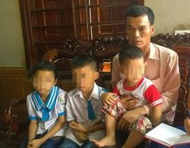 """Ba con thơ nheo nhóc vì mẹ theo """"Hội Thánh Đức Chúa Trời"""""""