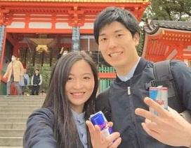 """Chuyện tình của Á khôi du học sinh Việt tại Nhật Bản """"đốn tim"""" dân mạng"""