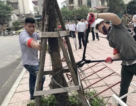 """""""Cuộc chiến"""" lối đi giữa hai chung cư: Hà Nội giải tỏa toàn bộ rào chắn"""