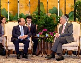 Thủ tướng Việt Nam - Singapore nhấn mạnh quan điểm về Biển Đông