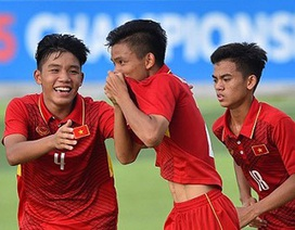 U16 Việt Nam nằm trong bảng đấu dễ chịu tại giải U16 châu Á 2018