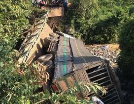 Cầu tải trọng dưới 5 tấn đổ sập khi xe 18 tấn chạy qua