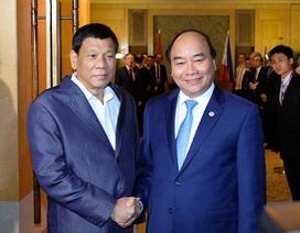 Thủ tướng Việt Nam - Philippines trao đổi về tình hình Biển Đông