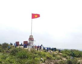 Khánh thành cột cờ Tổ quốc cao hơn 22m trên đảo Hòn La