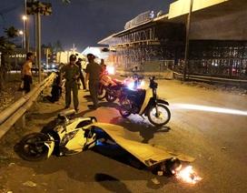 Người đàn ông tử vong cạnh xe máy, nghi bị xe tông