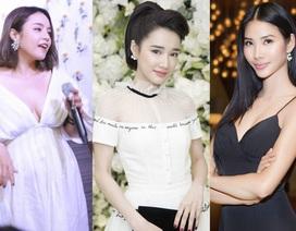 """Hoàng Thuỳ đẹp nhất tuần; Thái Trinh diện trang phục lộ vòng 1 """"xập xệ"""" lọt top sao xấu"""