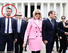 """Ngây ngất với chàng vệ sĩ đẹp """"không góc chết"""" của Tổng thống Pháp"""