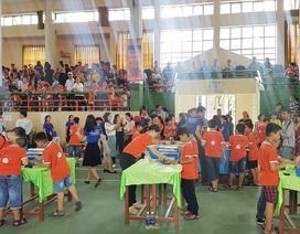 Hào hứng cuộc thi Robot cho học sinh Thừa Thiên Huế