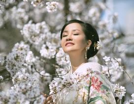 """Diva Hồng Nhung: """"Mặc Kimono là một khoảnh khắc thiêng liêng"""""""
