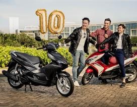 Honda Việt Nam tung nhiều giải thưởng hấp dẫn kỷ niệm 10 năm ra mắt Air Blade