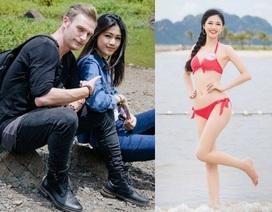 Á hậu cao 1m8 làm BTV của VTV kể chuyện tình lãng mạn cùng Kyo York
