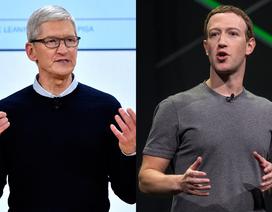 """Cuộc chiến """"bằng mặt nhưng không bằng lòng"""" giữa Tim Cook và Mark Zuckerberg"""
