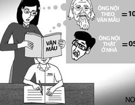 Giáo viên trăn trở: Học sinh đang quá lệ thuộc vào văn mẫu