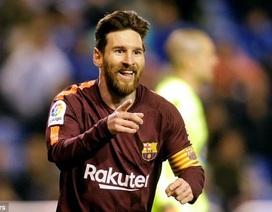 Messi lập kỷ lục sau khi giúp Barcelona vô địch La Liga