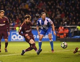 Messi lập hattrick, Barcelona lên ngôi vô địch La Liga