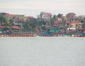 Rộn ràng với lễ hội đua thuyền truyền thống trên sông Nhật Lệ