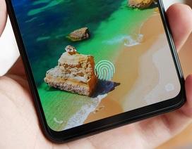 Smartphone cảm biến vân tay dưới màn hình đầu tiên thế giới bất ngờ xuất hiện tại VN