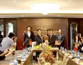 Lễ ký kết hợp đồng tổng thầu thiết kế và thi công dự án Nam Đại Cồ Việt
