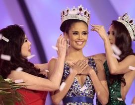 Hoa hậu Thế giới Megan Young cùng Hoa hậu Hoàn vũ Pia Wurtzbach đến Việt Nam