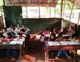 Nhiều phòng học xuống cấp nghiêm trọng cần được đầu tư ở huyện miền núi