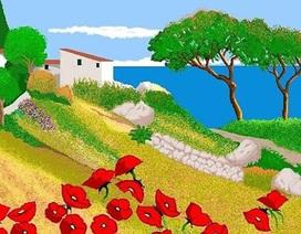 Sững sờ với những bức tranh vẽ bằng Microsoft Paint của bà ngoại 87 tuổi