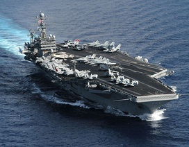 Tàu sân bay Mỹ có thể sắp diễn tập trên Biển Đông