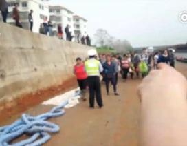 9 tấn táo bị đổ giữa đường, người dân Trung Quốc thi nhau nhặt sạch