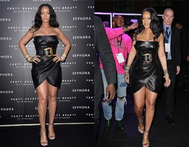 Rihanna tái xuất bốc lửa