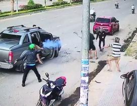 """Vụ nổ súng trên đường: Ngọc """"sẹo"""" ra đầu thú"""