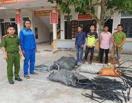 Công ty VNPT Hà Tĩnh bị trộm hàng trăm mét cáp viễn thông