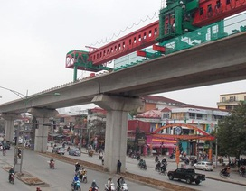 """Đường sắt số 2 Hà Nội """"đội vốn"""" 16.120 tỷ đồng, Chính phủ yêu cầu 4 bộ vào cuộc"""