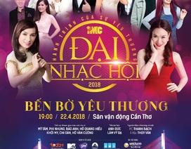 Mỹ Tâm, Phi Nhung khởi động chuỗi đại nhạc hội IMC trên cả nước