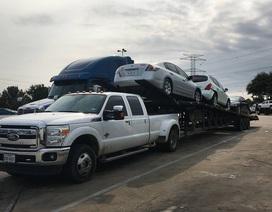 Nhiều ô tô ngập nước do bão tại Mỹ vẫn đang được xuất khẩu sang Đông Nam Á