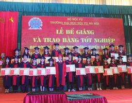 Trường Đại học Nội vụ Hà Nội thông báo tuyển sinh năm 2018
