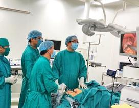 Lần đầu tiên phẫu thuật nội soi điều trị bệnh trào ngược dạ dày thực quản