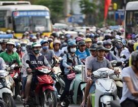 Hàng nghìn phương tiện nối đuôi đưa người dân trở lại Thủ đô sau kỳ nghỉ lễ