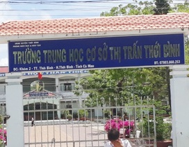 """Tiếp thông tin vụ thầy giáo bị tố """"sàm sỡ"""" nhiều nữ sinh THCS"""