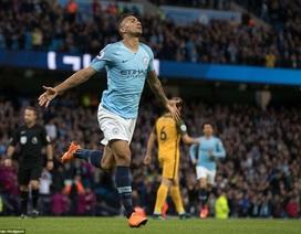 Man City 3-1 Brighton: Kỷ lục chồng kỷ lục