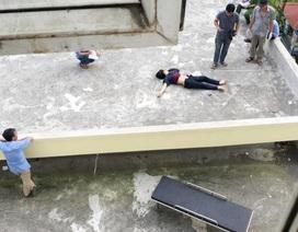 Nam thanh niên gieo mình từ tầng 11 bệnh viện xuống đất